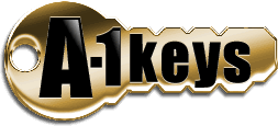 A1 Locksmith & Keys Logo